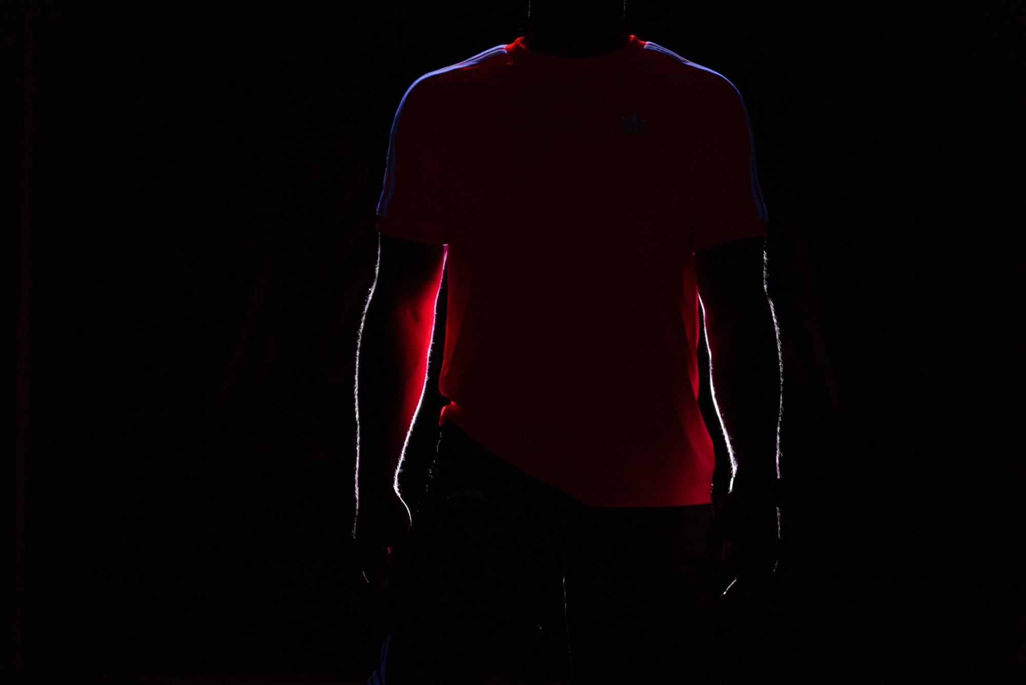 Silhouette of Sportsman